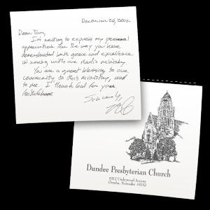 Dundee Presbyterian Church Testimonial