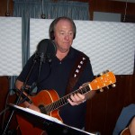 Terry plying acoustic and vocals