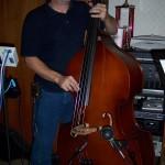 Jack (Mineola Mad Man) manhandles the bass