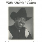 "We say ""goodbye"" to Melvin, January 5, 2011"
