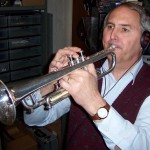 Rob shines on the brass