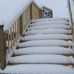Stairway of white