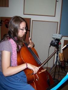 Recording cello parts