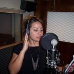 Kristin recroding vocal