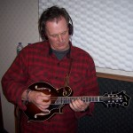 Rich recording mandolin