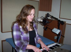 Lyndsey Hrabik records song for contest