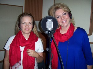 Diane Thomas & Pam Kragt record Christmas In August