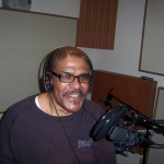 Donald Perry records vocals at Tesco Productions