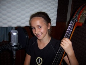 Julia records bass & vocal