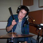 Vinnie replaces percussion at Tesco Productions
