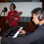 Keys and bass recorded with Grupo David