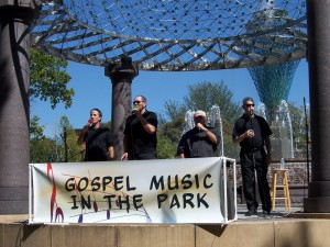 Glory Road singing at Bayliss Park annual Gospel Sing