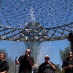 Bayliss Park fountain backs up Glory Road Gospel Sing