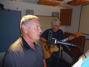 Ed & Joe record the Ten Commandments at Tesco Productions