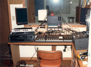 Early days mix at Tesco Productions
